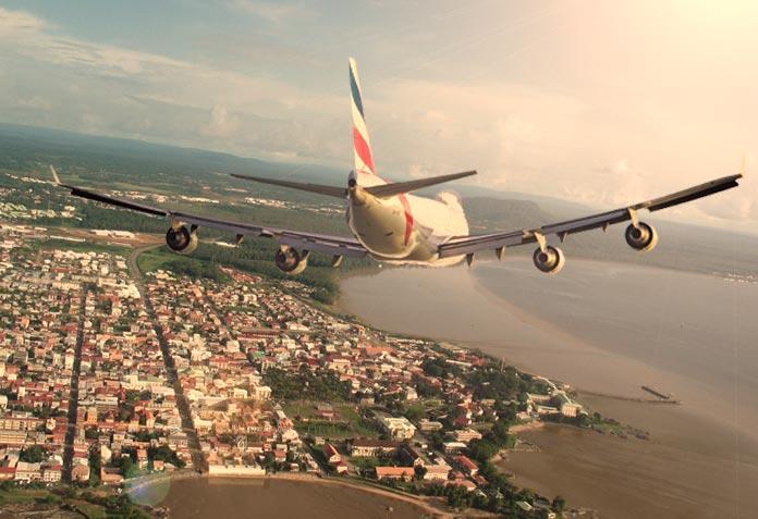 Guyane : voyages en avion